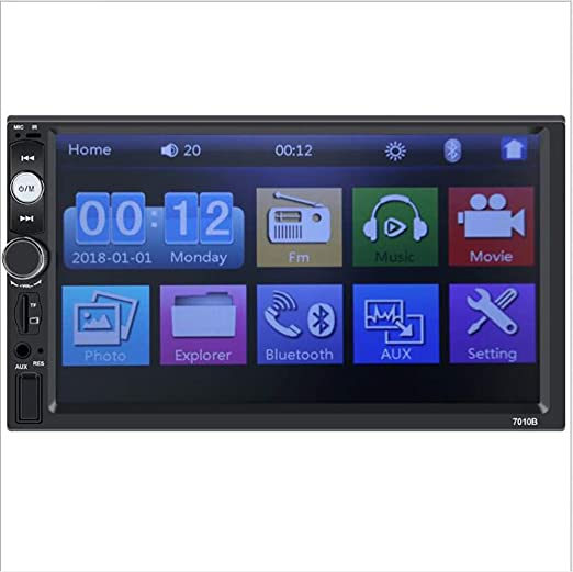 TTK Auto Radio del Coche Wi-Fi Bluetooth Control del Volante ...