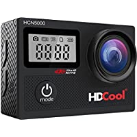 HDCool HCN5000 20MP Wi-Fi Waterproof 4K Action Camera