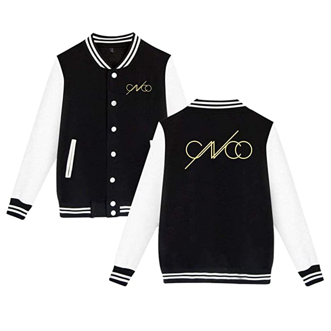 Cnco Mens Girls Classic Baseball Uniform Brushed Keep Warm Jackets