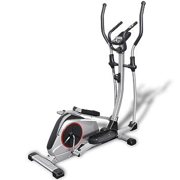 vidaXL Crosstrainer XL 18kg Drehmasse Puls Ellipsentrainer Ergometer Fitness Ausdauertraining