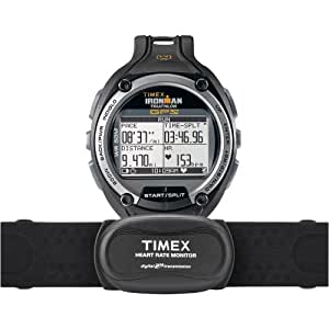 Timex Ironman Global Trainer With GPS Watch - Speed + Distance with Flex Tech Digital 2.4 Heart Rate Sensor One Color, One Size