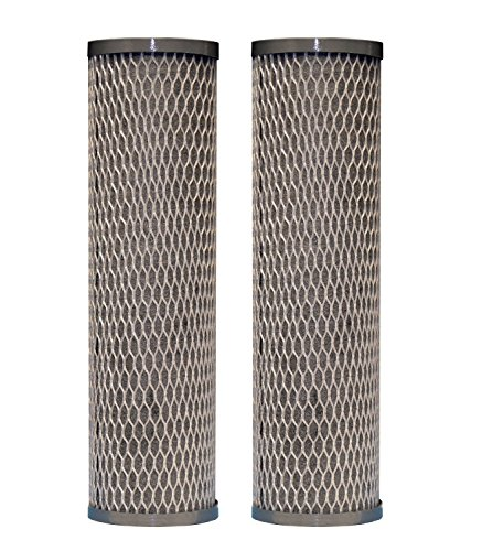 DuPont WFPFC8002 Universal Whole House Carbon Wrap 2-Phase Cartridge, 2-Pack (2-Pack)