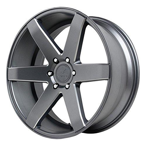 Verde Custom Wheels V24 Invictus Matte Graphite Wheel (22x9.5