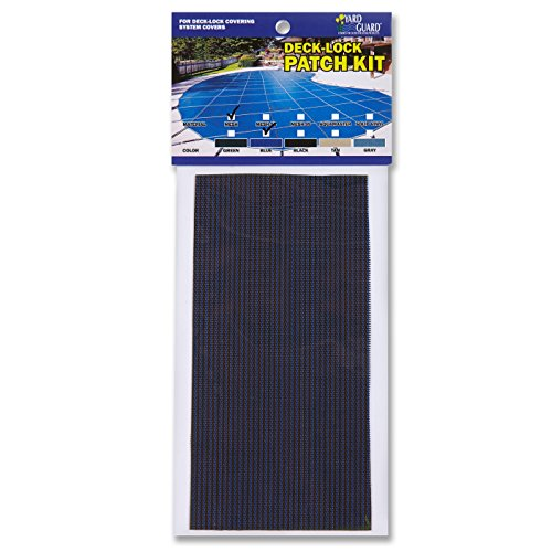 Universal Mesh Swimming Pool Safety Cover Patch Kit - Blue (Mesh Safety Cover)