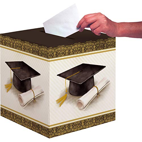 Creative Converting 335404 Classic Graduation Card Box, 12