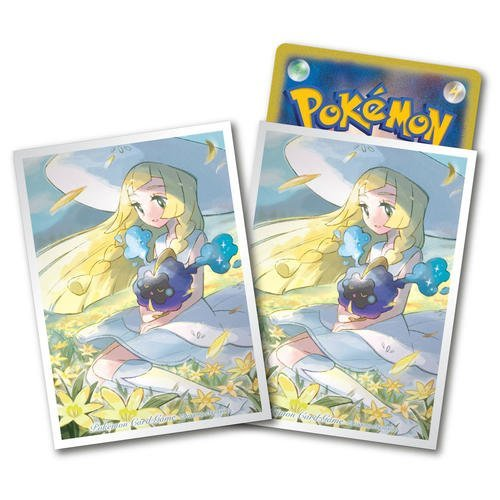 Limited edition Pokemon Card Game premium Deck Shield  Lillie & Cosmog