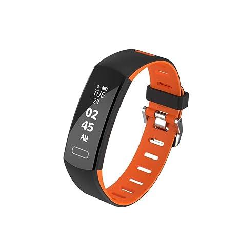 Smart Watches Waterproof IP 68, Pulsera Inteligente con rastreador de Actividad y Reloj Deportivo,