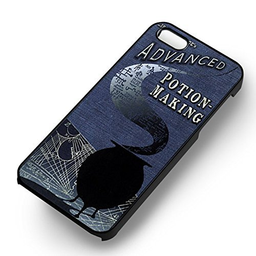 Unique Harry Potter Advance Potion pour Coque Iphone 5 or Coque Iphone 5S or Coque Iphone 5SE Case (Noir Boîtier en plastique dur) I5L7WT