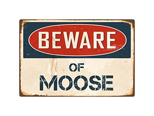 - StickerPirate Beware of Moose 8