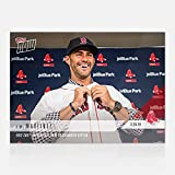 #10: J.D. MARTINEZ TOPPS NOW CARD #ST5 BOSTON RED SOX INTRODUCE NEW DESIGNATED HITTER + TOPLOADER