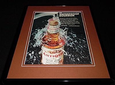 1968 Antique Kentucky Bourbon Whiskey Framed 11x14 ORIGINAL Advertisement