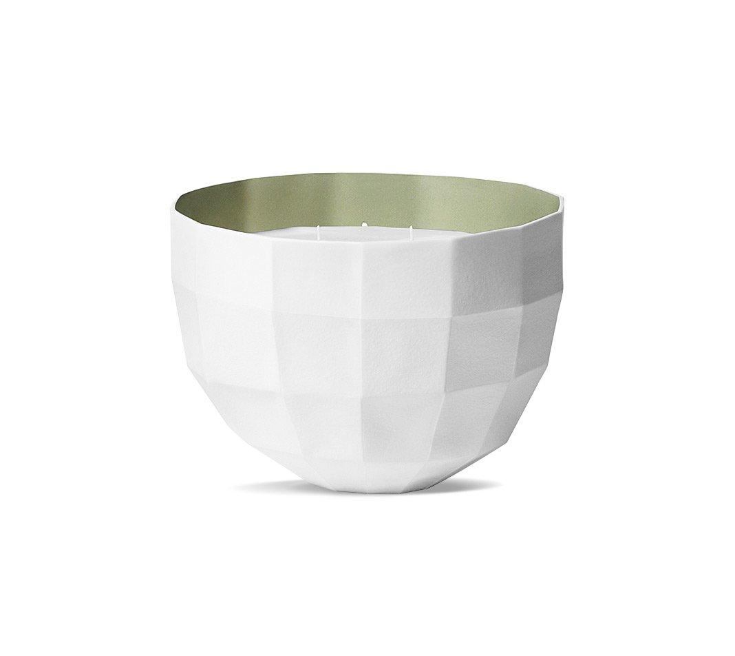 HERMES Le Parfum de la Maison Bougie Scented Candle Bowl 5 Wick TEMPS DE PLUIE Jumbo Size