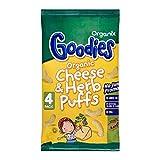 Organix Goodies Organic Puffs - Cheese & Herb 12mth+ (4x15g)