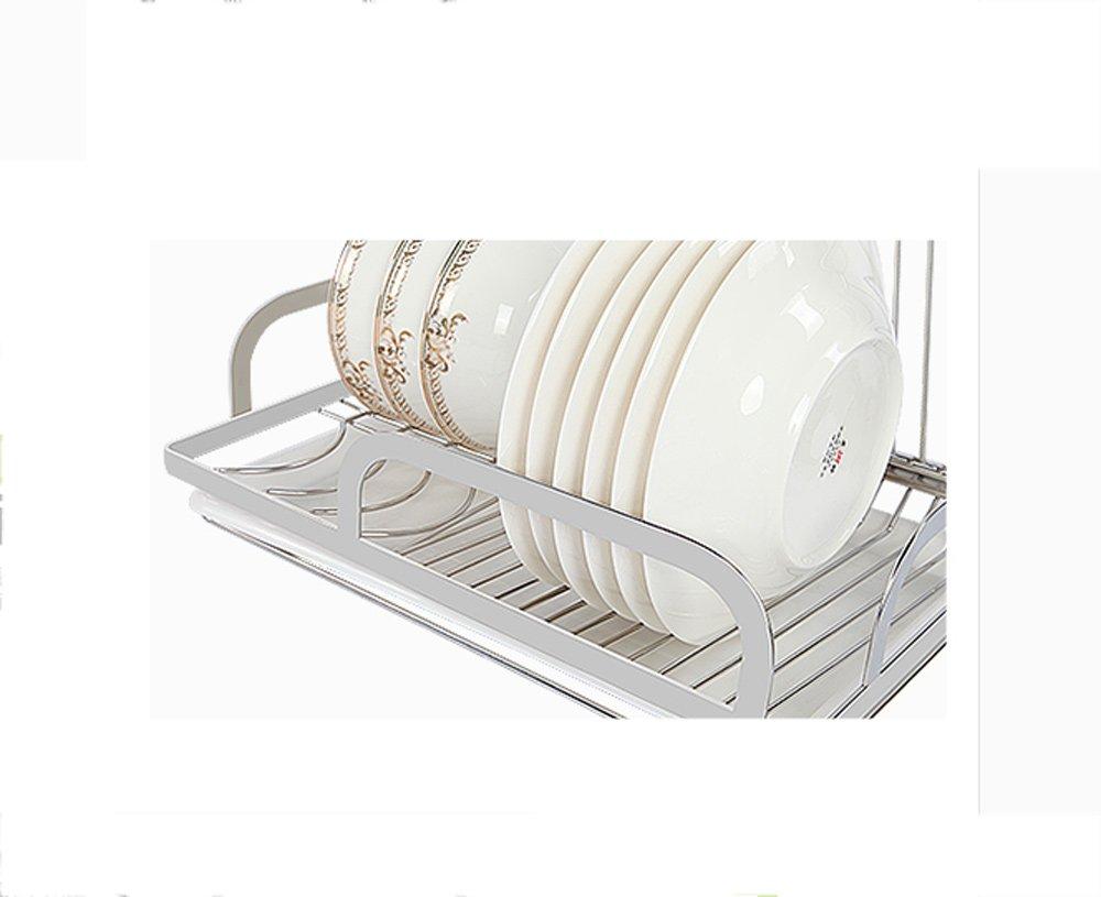 Hyun times Kitchen Pendant 304 Stainless Steel Hanging Rod Kitchen Utensils Dishui Kitchen And Toilet Rack Racks by Hyun times Bowl shelf (Image #3)