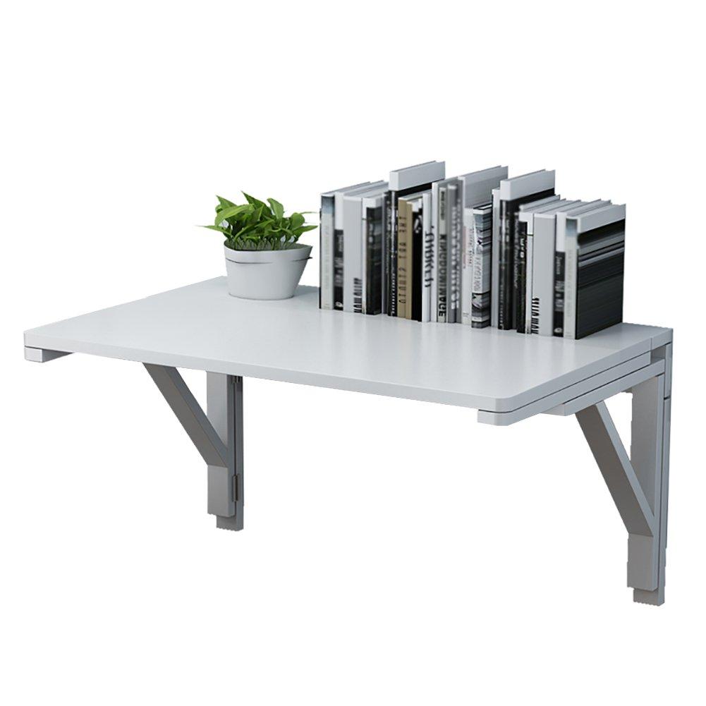 LQQGXLポータブル折りたたみテーブル 折りたたみ式テーブル ランドリーダブルブラケット ホワイト 壁掛け 木製テーブル 重厚なキッチンとダイニングテーブル 100 * 40cm B07H4VK24G  A 100*40cm