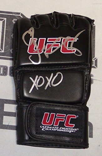 Felice Herrig Signed Ufc Glove Coa The Ultimate Fighter 20 Autograph Tuf   Psa Dna Certified   Autographed Ufc Gloves