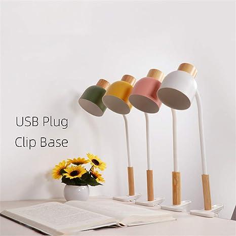Table Led Pince étudiant Lumière Cahier Lampe De Clip Bureau