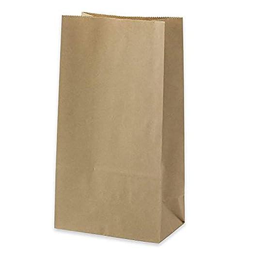 Amazon.com: Pequeñas bolsas de papel marrón para el almuerzo ...