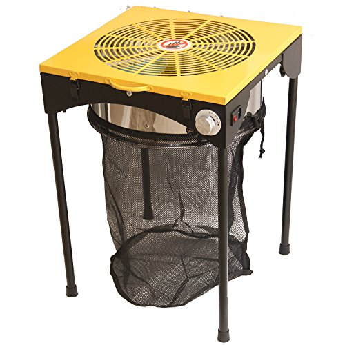 HFS (R) New Version 18'' 3-Speed Leaf Bud Trimmer - Workstation Table Style by HFS