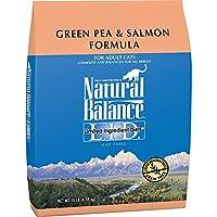 Equilibrio Natural L.I.D. Dietas de ingredientes limitados Comida seca para gatos, sin grano, guisante verde y fórmula de salmón, 10 libras