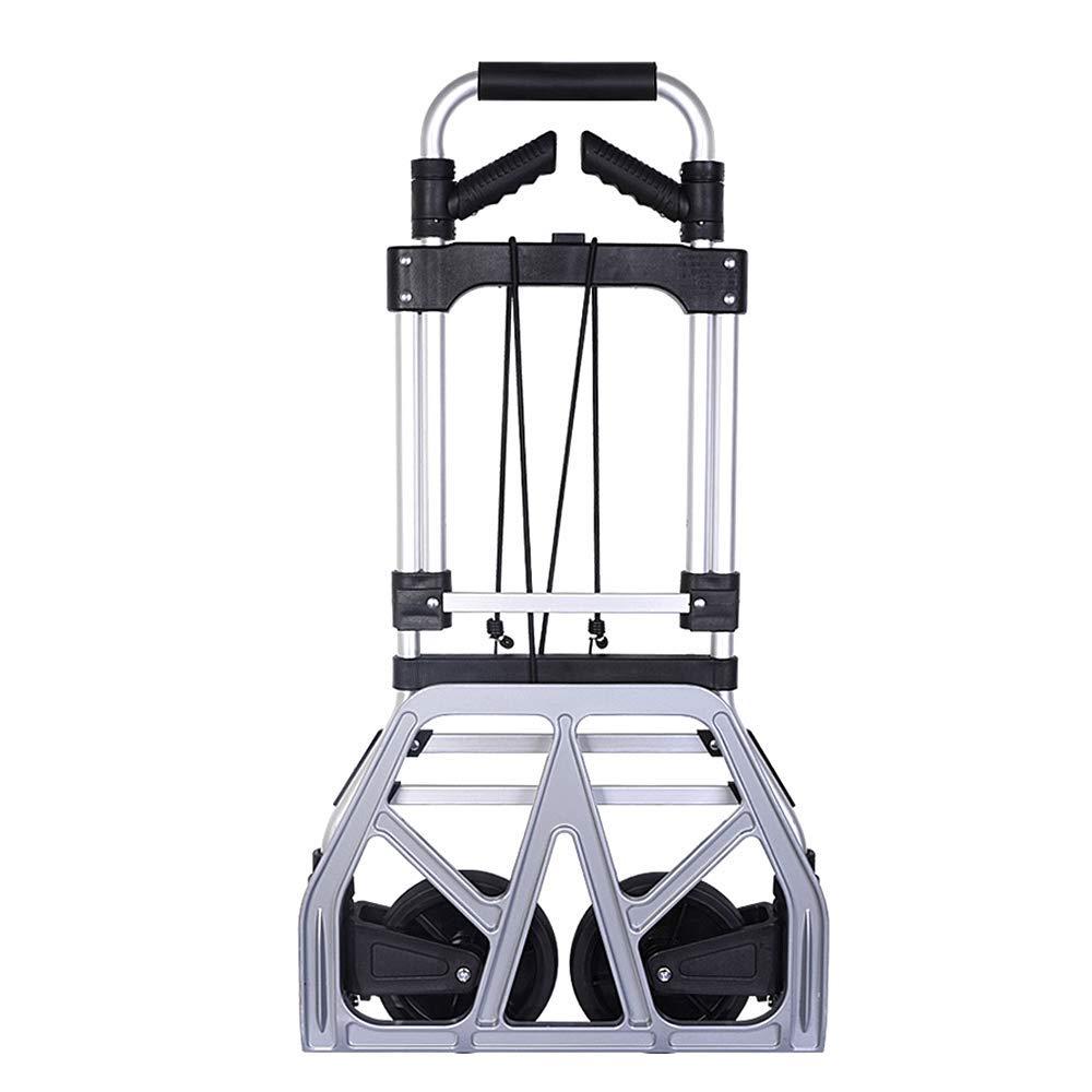 ポータブル大型アルミ合金ローディングキング小型プルカット (色、折りたたみ式、ポータブルトラベルトレーラー、重量180kg 黒 (色 : 黒) : B07K9M54TF 黒, ペアジュエリー テラグラティア:5cda3f9a --- anime-portal.club