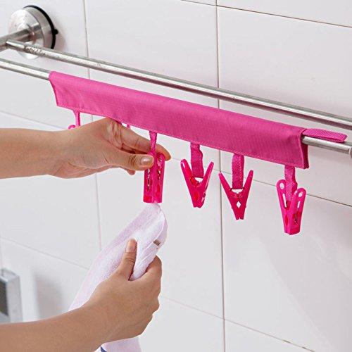 Portable,Fabric Hangers Business Trip,Travel,Collapsible,Dry