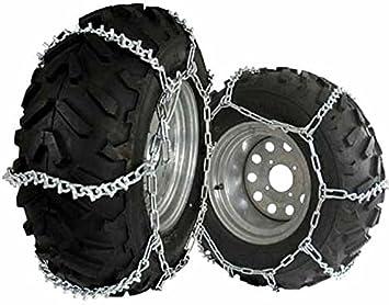 Cadenas de nieve ATV UTV AB13 pulgadas para neumáticos grandes: Amazon.es: Coche y moto