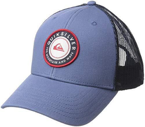 (Quiksilver Men's Legend Clipper Trucker HAT, Bijou Blue, 1SZ)