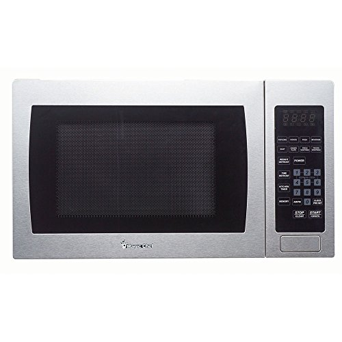 Magic Chef MCM990ST 0.9 cu.ft. Microwave, Stainless Steel by Magic Chef