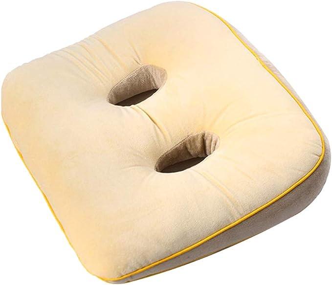 adatto per sedia a rotelle ufficio o esterno seggiolino Auto cuscino del sedile da Pesca per alleviare le emorroidi YUANYOU Schiuma di Memoria a Forma di ciambella