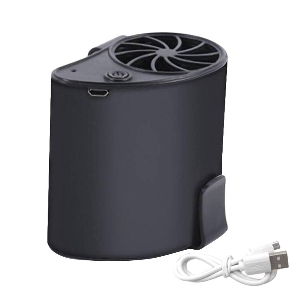 Symboat Lüfter Personal Wiederaufladbar Tragbar von Größe Fan des Lüfter Kühler USB für die P ¨ Polarisationsfilter Camping-Farbspiele EN Plein Air