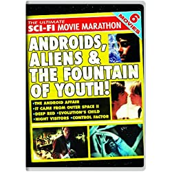 The Ultimate Sci-Fi Movie Marathon: The Android Affair / It Came From Outer Space II / Deep Red / Evolution's Child / Night Visitors / Control Factor
