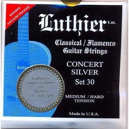 CUERDAS GUITARRA CLASICA - Luthier (LU/30SC) Super Carbon Concert ...