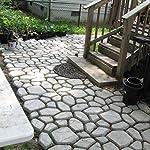 Logicstring-DIY-vialetto-di-plastica-pavimentazione-pavimentazione-in-Pietra-Stampo-calcestruzzo-Stepping-pathmate-Stampo-finitrice-Strumento-Decorato-da-Giardino