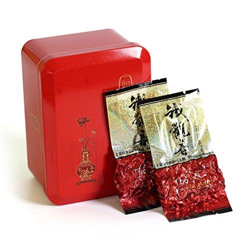 GOARTEA 10Pcs_8g Organic Top Grade Fujian Anxi High Mount. Tie Guan Yin Tieguanyin Iron Goddess Chinese Oolong Tea