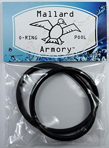 VITON Cover O-Ring for Hayward Automatic Chlorine Feeder Models CL200 and CL220 - Mallard Armory CLX200K