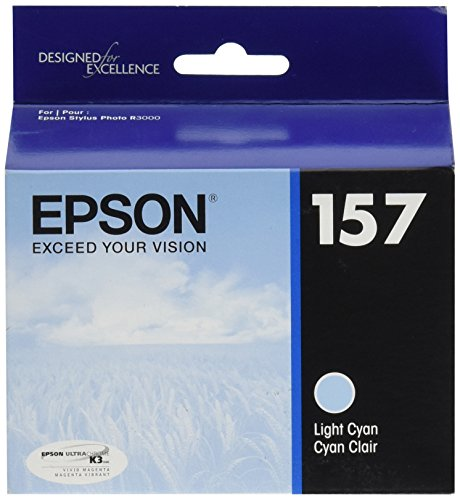 Ultrachrome K3 Light Cyan Ink (Epson UltraChrome K3 157 Inkjet Cartridge (Light Cyan) (T157520))