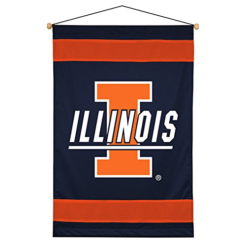 Sports Coverage NCAA Illinois Fighting Illini Sideline Wall ()