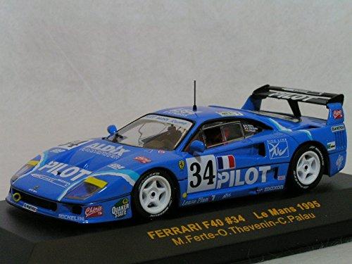 1/43 フェラーリ F40 LE MANS 1994 M.Ferte-O.Thevenin-C.Palau #34(ブルー) LMC076