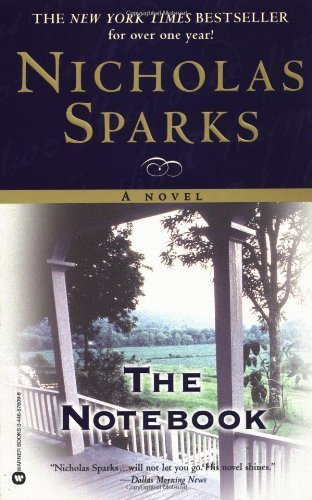 Nicholas Sparks Notebook 11 1 1999 product image