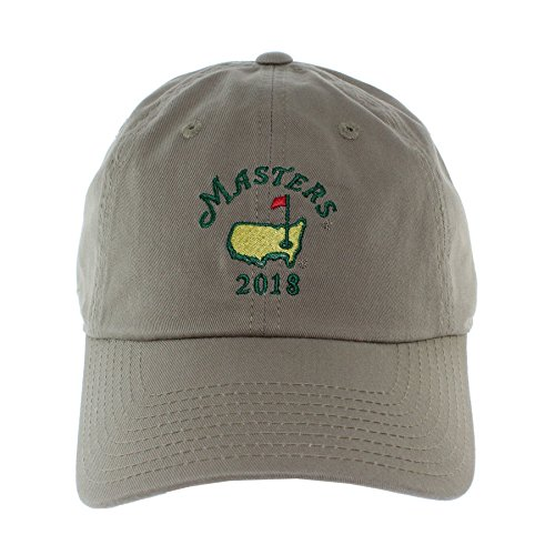 Masters Caddy Hat - 2018 Masters Khaki Caddy Hat