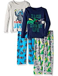 Boys 4-Piece Pajama Set