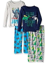 Boys 4-Piece Pajama Set