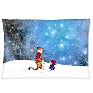 Calvin And Hobbes Stars Pillowcases 20x26 Inch