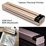 Tattoo Transfer Copier Printer Machine Thermal Stencil Maker Tattooing + 20X Papers 2018 New Product 4-10 Days Shipping
