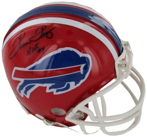 NFL Buffalo Bills Thurman Thomas Autographed Mini Helmet by Steiner Sports