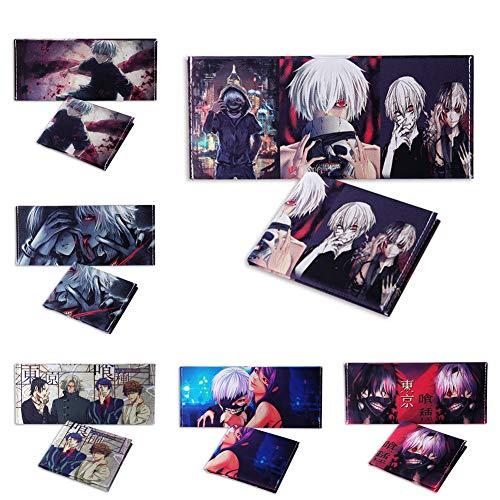 Ofd Portefeuille H14 Toile Cartoon Ghoul Étudiant Anime H05 Fin Tokyo Haushele Imprimée dWqpH6d