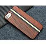 Yfwood compatible for iphone 7 wood case, real wood pattern high impact durable shockproof heavy duty back protective… 9 ❶ wooden iphone 7 case,iphone 8 case ,slim-fit, so it won't make your device bulky, or difficult to manage. Easy to access all ports,controls and buttons without removing the case. The case edges are fully covered and slightly raised to protect your screen from scratches ❷good drop protection with reinforced corners: reinforcement bumper covers all 4 corners that raised bezel to lift screen and camera off flat surface that the iphone 7 wood case offer the maximum protection for your iphone 7/8 when it dropped. ❸ ergonomic design-practical protector, this stylish and luxurious wood cover offers an enhanced grip and textured geometric design that adds even more protection to this iphone 7 case,iphone 8 case