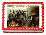 Zombies edible party cake topper decoration cake frosting Review and Comparison