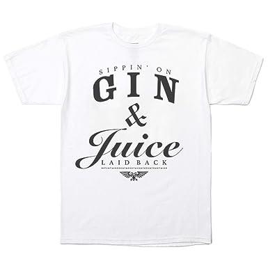 Amazon.com  InMyWhiteTee Snoop Dogg Gin and Juice T-shirt c065777cf15